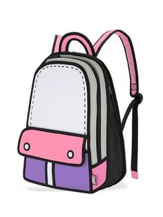 See more. Adventure Backpack in Pink 2d Bags a5fbdfc408b82