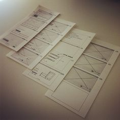 Mockups, UI/UX interface wireframes