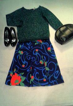 Skirt and jumper by Friperie #dresses #Bologna #Friperie #oldstyle