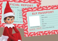 Elf shelf welcome kit