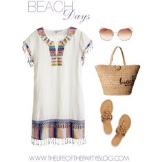 How To Wear Beach Days Outfit Idea 2017 - Fashion Trends Ready To Wear For Plus Size, Curvy Women Over 20, 30, 40, 50