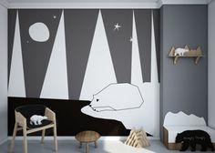 papier-peint-ours-polaire
