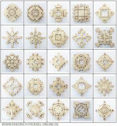 Spielgaben - Spielgabe 5B nach Goldammer - Schoenheitsform - Mandala