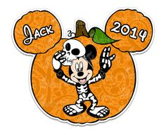 Mickey Halloween Pumpkin Printable Iron On by TheWallabyWay, Perfect DIY for Mickey's Not So Scary Halloween Party, Halloween Shirt - Matching designs for the whole family too