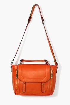 Blair Messenger Bag - Orange