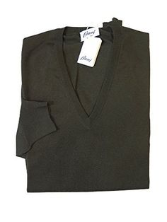 """Product review for Brioni Olive Green Wool V-Neck Sweater 56 / 2XL.        Famous Words of Inspiration...""""Beauty is all very well at first sight; but whoever looks at it when it has been in the house three days?""""   George Bernard Shaw — Click here for more from George Bernard..."""