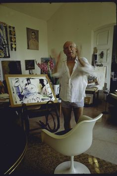 Spanish expatriate Pablo Picasso was one of the greatest and most influential artists of the 20th century, as well as the co-creator of Cubism.