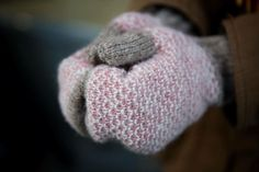 «Tiia made these mittens on Monday of Tukuwool Fingering. It seems like we can't get enough of this yarn...  - Jonna #tampere #lankakauppakerä…»