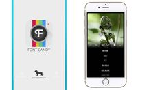 Font Candy - Typography App for iPhone - Touch Technology Review