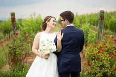 Love in the vineyard. ❤️ from and photo by at Vineyard Wedding Venues, Southern Weddings, What Is Love, Got Married, Wedding Day, Romantic, Bride, Wedding Dresses, Beautiful