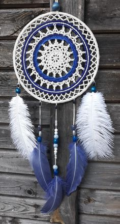 Mandala patron We are want to say thanks if you like to sh Dream Catcher Patterns, Dream Catcher Art, Large Dream Catcher, Crochet Dreamcatcher, Crochet Decoration, String Art, Crochet Doilies, Diy Crafts To Sell, Wind Chimes