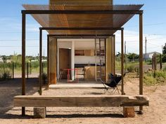Square Footage: 320  Location: Marfa, Texas  Architect: Candid Rogers Studio