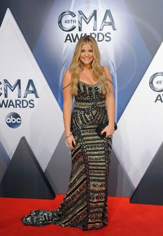 Lauren Alaina looked positively statuesque in our jewelry at the CMA Awards