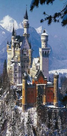 Neuschwanstein Castle ~ Germany