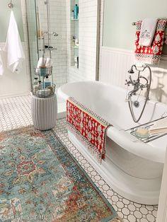 Golden Boys and Me: Master Bathroom Refresh Small Bathroom, Master Bathroom, Bathroom Ideas, Bathroom Plants, Bathroom Gallery, Bathroom Vanities, White Bathroom, Bathroom Renovations, Home Remodeling