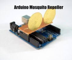 In this instructable I'm going to show you how to build a mosquito repeller using an Arduino. The repeller is in the form of a shield that plugs into the Arduino board and the frequency of the repeller can be changed easily. This project is ideal if you are going camping or hiking outdoors, this device produces a sound of 31KHz Frequency which acts as a mosquito repellent. The frequency of this device can be adjusted and at 23kHZ to 54 kHz it also acts as a dog whistle. Human ears are not…