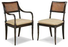 Mahogany Regency Hampton Dining Side & Arm Chair