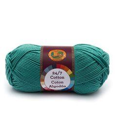 Look at this #zulilyfind! Jade Cotton Yarn - Set of Three #zulilyfinds
