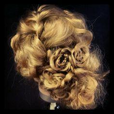#hair #hairstyle #updo #flower #braid #prom #grad #formal #hairideas