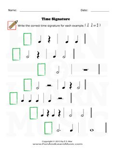 time signatures time signature pinterest music worksheets worksheets and music classroom. Black Bedroom Furniture Sets. Home Design Ideas