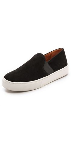 Vince Blair Slip On Sneakers | SHOPBOP Love this upgrade of the Original Slip On Vans.....it's suede however it's hard to tell in this picture.