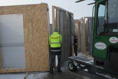Casa entramado ligero 104 m2 Frame, Wood