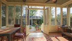 screened in porches interior designs - Google Search