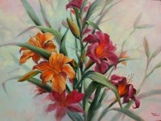 Loose Day Lilies