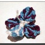 Field-speedwell crochet flower pattern