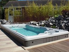 cover swim spa cover with decking - Google Search