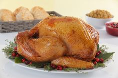 Bojangles Seasoned Fried Turkey for Thanksgiving | The turkeys each weight 10 to 13 pounds and are meant to serve six to eight people. They're fully cooked and just have to be reheated.
