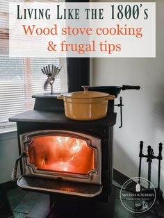 Cooking on a wood stove takes me back to the pioneer days and to my grandmother's rustic cabin, where she had an old wood cook stove. Read on as I share ideas on how to make recipes meant for an electric cook top successful in modern homes today. Propane Stove, Stove Oven, Frugal Living Tips, Frugal Tips, Cast Iron, It Cast, Wood Stove Cooking, Homestead Survival, Homestead Farm