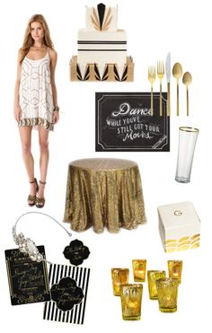 Party Theme: Great Gatsby |   Read more - http://www.stylemepretty.com/living/2013/07/16/party-theme-great-gatsby/