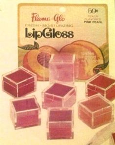 Flame-Glo Lip Gloss-- This is what I used! So much cheaper than other brands, and taste good too. 1970s Childhood, My Childhood Memories, Childhood Toys, Great Memories, School Memories, Retro Toys, Vintage Toys, Vintage Stuff, Vintage Makeup
