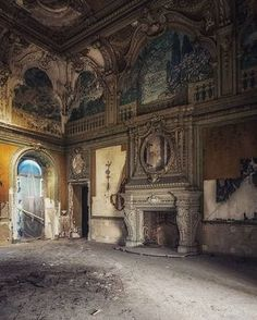 abandoned and beautiful. abandoned and beautiful. Abandoned Mansion For Sale, Old Abandoned Buildings, Abandoned Castles, Old Buildings, Abandoned Places, Architecture Old, Beautiful Architecture, Beautiful Buildings, Old Mansions