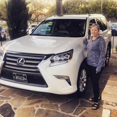 Congratulations to Jeanne Tousley on her #lcertified #lexusgx!! #lexusdominion #jerryalvaradolexus #northparklexusatdominion #weloveourowners #lexusfamily #salexus #nplexusdominion #wintercollection #kahligautogroup