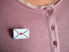 clay mail pin idea