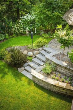 Nursery Company designed and landscaped this customer's backyard. Priv, McKay Nursery Company designed and landscaped this customer's backyard. Priv, McKay Nursery Company designed and landscaped this customer's backyard. Large Backyard Landscaping, Big Backyard, Backyard Fences, Landscaping With Rocks, Landscaping Ideas, Backyard Ideas, Patio Ideas, Garden Design Ideas On A Budget, Terraced Landscaping