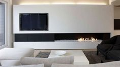 40 Hot Fireplace Ideas for a Cool, Sexy SpaceStudioAflo | Interior Design Ideas | StudioAflo | Interior Design Ideas