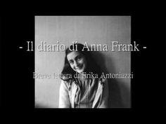 [Lettura] Il diario di Anna Frank {Lilium} Anna, Memories, Youtube, Education, Geo, Forget, Handmade Notebook, Diary Book, Photos
