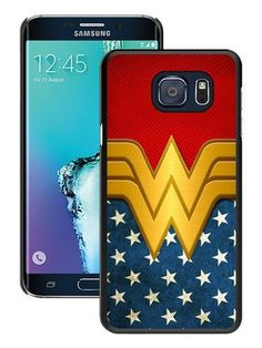 S6 Edge CaseCustom Design Wonder Women Black Samsung Galaxy S6 Edge Case