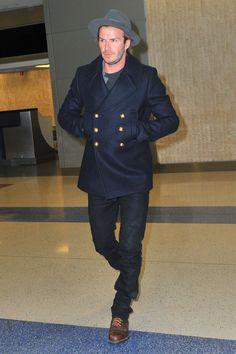 The David Beckham Look Book | GQ