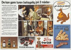 Add for the Danish train service from late 70'es/early 80'ies