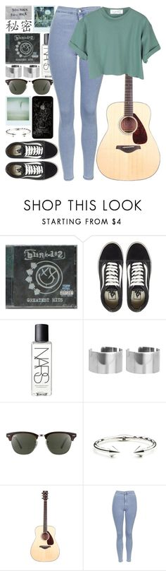 """And as I stared I counted the webs from all the spiders"" by jredfern ❤ liked on Polyvore featuring Vans, Polaroid, NARS Cosmetics, ASOS, Ray-Ban, Eddie Borgo and Topshop"