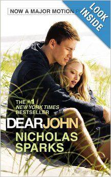 Capa do livro Querido John, autor: Nicholas Sparks Dear John Movie, Dear John 2010, Dear John Book, Dear John Nicholas Sparks, Nicholas Sparks Movies, Beau Film, See Movie, Movie Tv, Cher John
