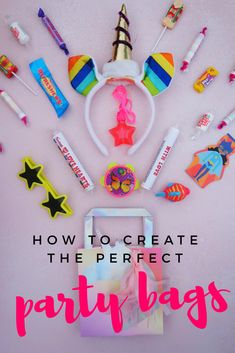 Tips for creating the perfect toddler birthday party bags - fun and exciting ideas to add to party bags for your little one's birthday party celebration