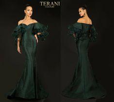 TERANI COUTURE 2021E2796 authentic dress. FREE FEDEX. BEST PRICE   eBay Shoulder Cape, Off The Shoulder, Gown Pattern, Terani Couture, Notes, Ebay, Dresses, Fashion, Vestidos