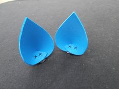 blue cat ears by Flagrant Fabulous....maybe figure out how to DIY these with foam?