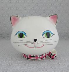 Holt Howard String Holder Cozy Kitten by RaindropVintageShop, $28.00