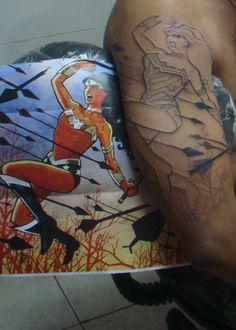 My Wonder Woman Tattoo